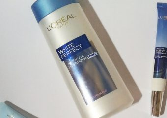 [Review] L'Oréal White Perfect Whitening & Moisturizing Toner