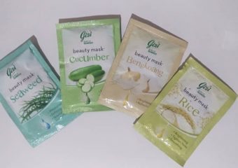 [Review] Gizi Beauty Mask (Cucumber, Rice, Bengkoang, Seaweed)