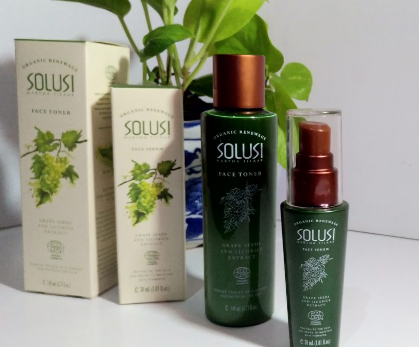 [Review] Solusi Organic Renewage Face Serum