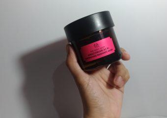 [Review] The Body Shop Amazonian Acai Energising Radiance Mask