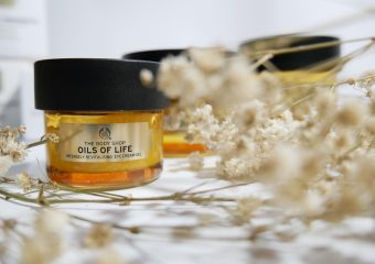 [Review] The Body Shop Oils of Life Series (Eye Cream Gel, Gel Cream, Sleeping Cream)